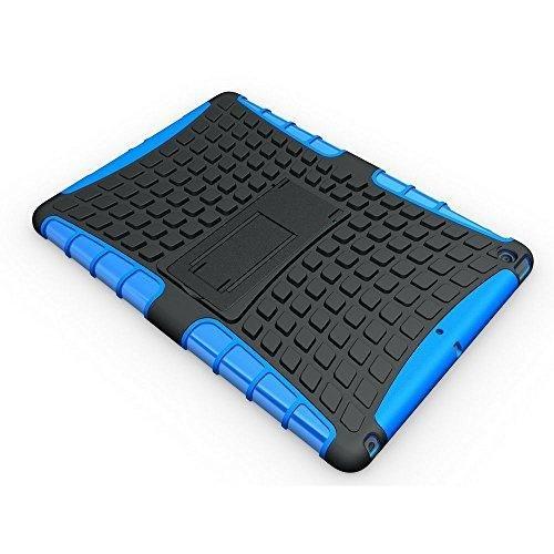 Redneck Coque pour Apple iPhone Tetron - Ultra-résistant - Bleu Apple iPad Air bleu