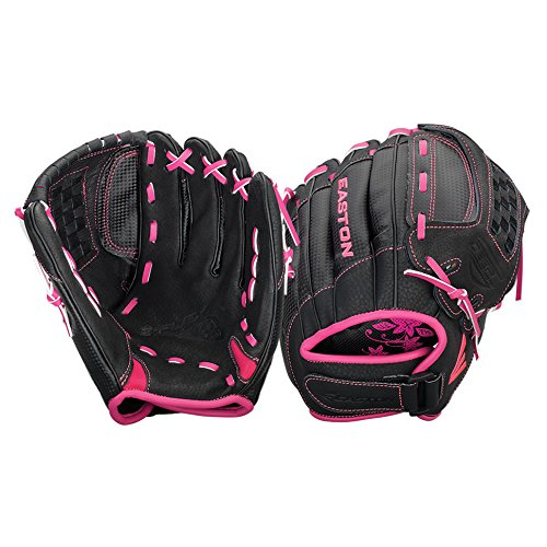 Easton Z-Flex Fastpitch Zfxfp1000 Bkpk Right Hand Throw 10 in Youth Softball Pattern (Ball Youth Glove Fastpitch)