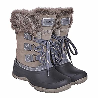 Amazon.com | Khombu Women's The Slope Winter Snow Boots