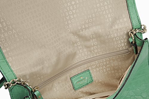 1ba25b2a16f0 Kate Spade Orchard Valley Fiona in Alligator Green Croc Leather ...