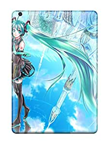 All Green Corp's Shop New Style 1750571K65026187 Ipad Air Vocaloid Tpu Silicone Gel Case Cover. Fits Ipad Air