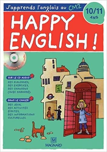 Lire Happy English ! : J'apprends l'anglais au CM2 (1CD audio) pdf, epub