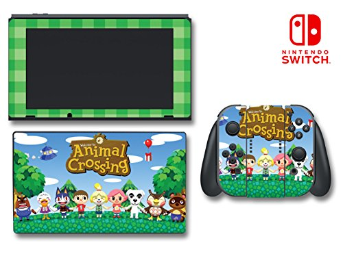 Mabel Leaf - Animal Crossing Happy Home Designer Mabel Video Game Vinyl Decal Skin Sticker Cover for Nintendo Switch Console System