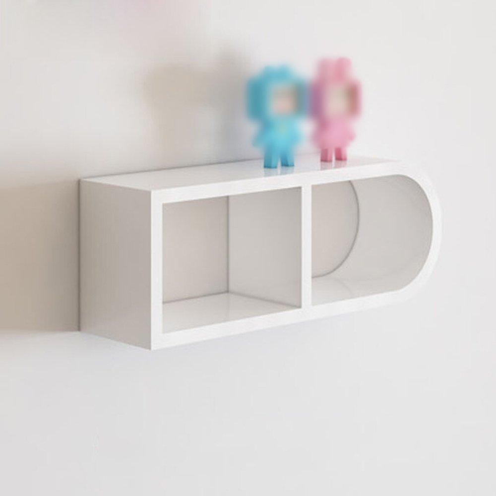 Wand Regal / Wohnzimmer Schlafzimmer Studie Ecke Regal / Wand Partition  Regal / Quadrat Wand Regal