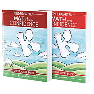 Kindergarten Math With Confidence Bundle: Instructor Guide & Student Workbook (Math with Confidence)