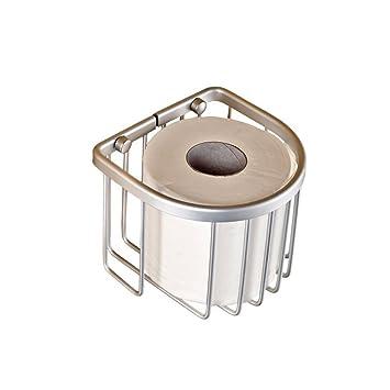 NBE Espacio de Aluminio Cesta Toalla Toalla de Papel/Soporte/Soporte/Papel higiénico
