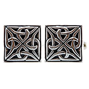 Sterling Silver Celtic Cufflinks