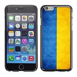 Graphic4You Vintage Ukrainian Flag of Ukraine Design Hard Case Cover for Apple iPhone 6