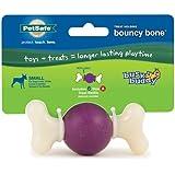 PetSafe Busy Buddy Bouncy Bone Dog Toy, Small