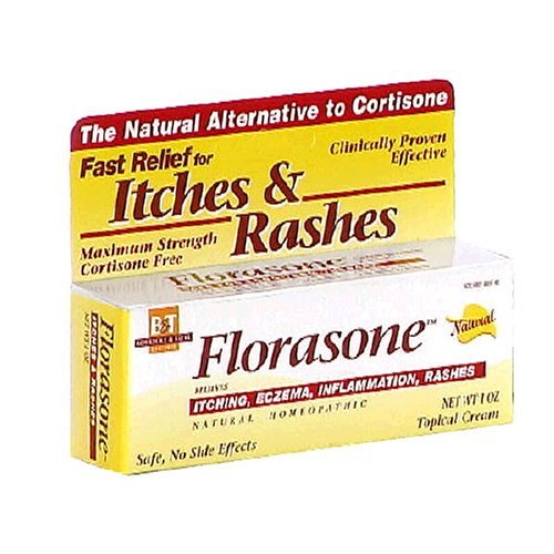 Boericke & Tafel Florasone Itches & Rashes Cream - 1 oz, 2 Pack