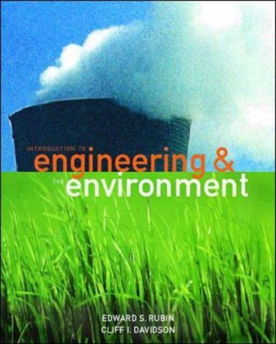 Introduction to Engineering and the Environment Ise (McGraw-Hill International Editions: Environmental Engineering Series) by Rubin E S(February 1, 2001) Paperback (Introduction To Engineering And The Environment Rubin)