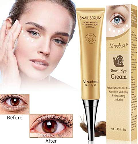 Under Eye Cream, Eye Repair Cream, Anti-Aging Eye Cream, Eye Cream for Dark Circles & Puffiness & Under Eye Bags, Nourishes Skin & Fights Wrinkles, Rapid Wrinkle Repair Eye Skin