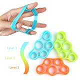 Kyпить RitFit Best Finger & Exerciser Stretcher,Hand Extensor Exerciser,Finger Grip Trainer for Relieve Joint Pain, Injury Rehabilitation,Relaxation & Grips Workout (Upgraded Type) на Amazon.com