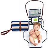 Portable Changing Pad Diaper Bag - Diaper Clutch Purse...