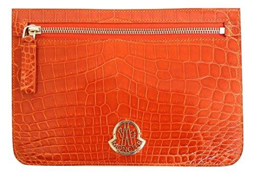 Moncler borsa marsupio pochette in pelle donna 4613805 arancione