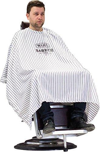 Capa de peluquería a rayas Wahl Barber 4015110016328