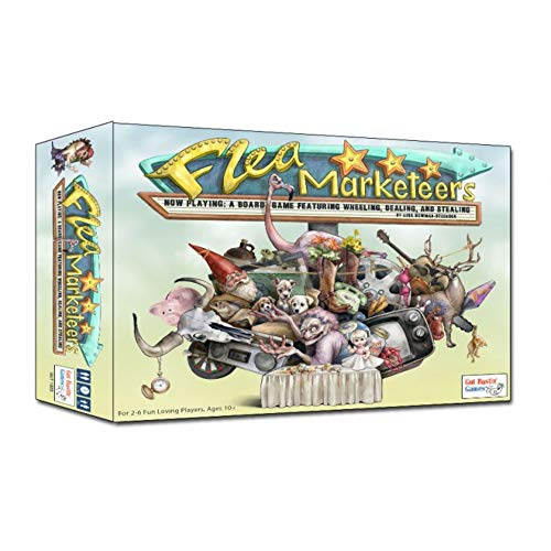 Gut Bustin' Games Flea Marketeers Board Game