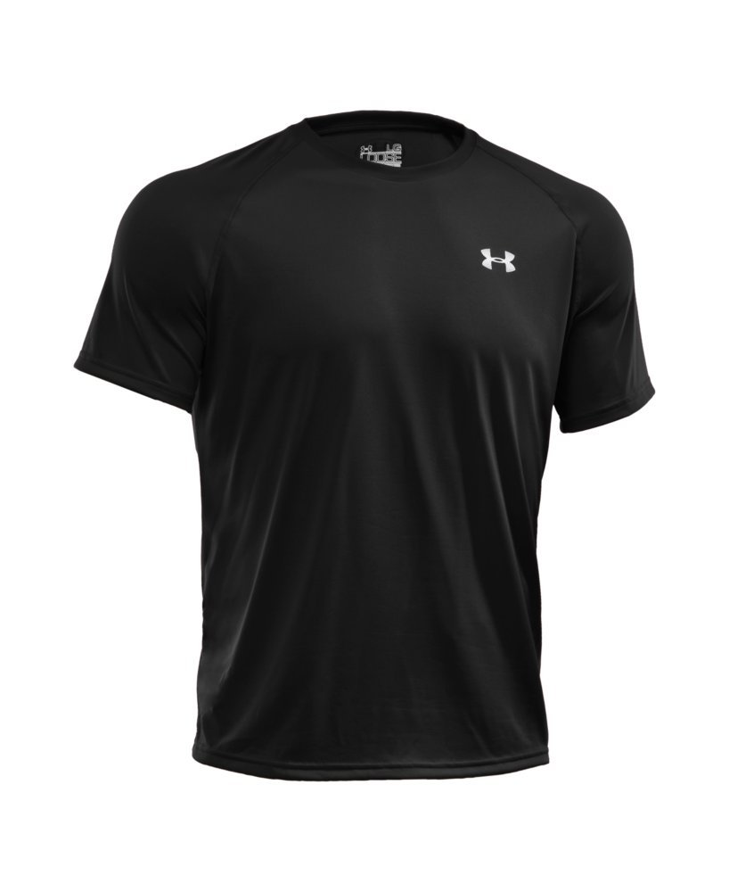 Under Armour Men's Tech Short Sleeve T-Shirt, Black /White, XXX-Large Tall by Under Armour (Image #4)