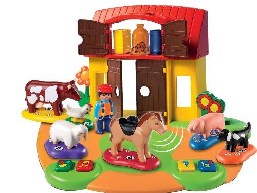 6766 ferme interactive de playmobil. Black Bedroom Furniture Sets. Home Design Ideas
