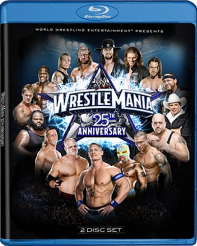 Price comparison product image WWE: WrestleMania XXV - 25th Anniversary [Blu-ray]
