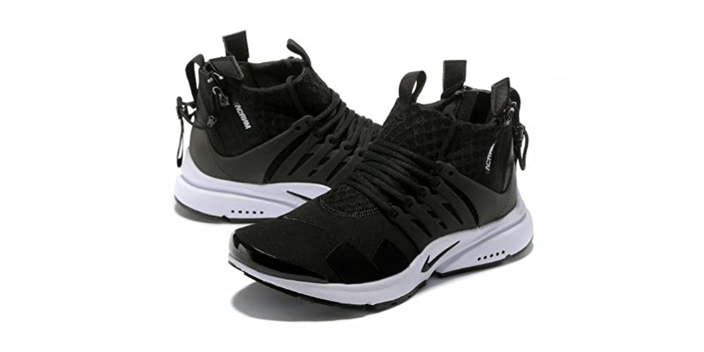 28391b756d594 Nike Mens Acronym X Air Presto For Men (7.5, Black_White): Buy Online at  Low Prices in India - Amazon.in