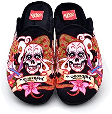 Zapatillas Casa Woo Tattoo Regalos Originales - 48: Amazon.es: Zapatos y complementos