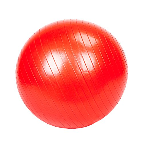 PEXMOR Exercise Ball (55cm-85cm) for Fitness, Stability, Balance, Core Strength training, Yoga Ball With Anti Burst & Extra Thick, Balance Ball With Pump Supports 2200 lbs for Gym &Home
