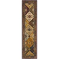 Safavieh Persian Legend Collection PL512A Handmade Traditional Red and Rust Wool Area Rug (23 x 4)