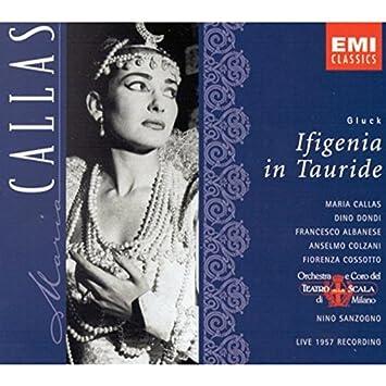 Gluck: Ifigenia in Tauride (complete opera live 1957) with Maria Callas, Dino