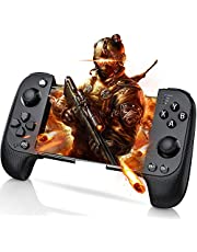 HUIMEOW Mobile Game Controller for iOS & Android Smartphone, Wireless Telescopic Compatible with Bluetooth, 2019 Newest Gaming Trigger