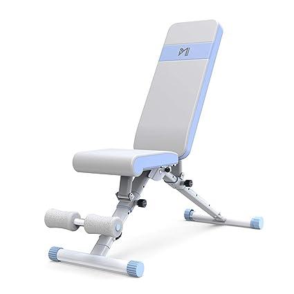 Máquinas de espalda Dumbbell Bench Home multifunción Supine Board Fitness Chair Equipo de Fitness Supine Board