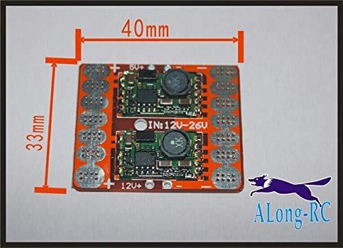 Part & Accessories Multirotor Power Distribution Board with 5V 12V Adjustable Voltage Dual BEC for 4 axis 6 axis/spare part - (Color: SMALL)
