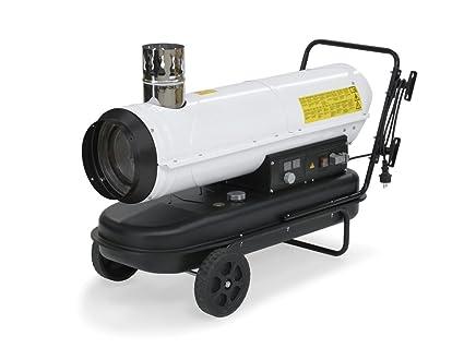 TROTEC 1430000220 - Calefactor de gasoil IDE 30 Potencia térmica nominal de 30 kW
