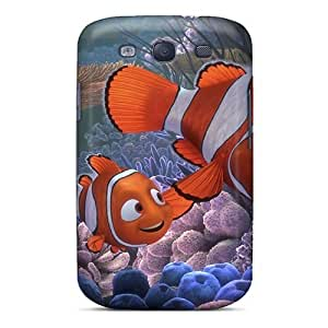 Shockproof Hard Cell-phone Cases For Samsung Galaxy S3 With Support Your Personal Customized Stylish Finding Nemo 3d Movie Pictures SherriFakhry