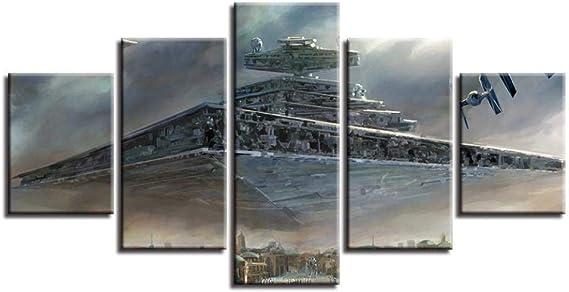 Patrón De Nave Espacial Extraterrestre, Pintura De Lienzo ...