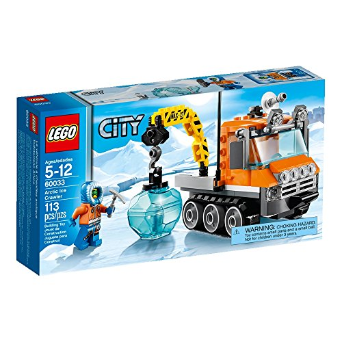 LEGO City Arctic Ice Crawler 60033 Building Toy (City Building Crane Lego)