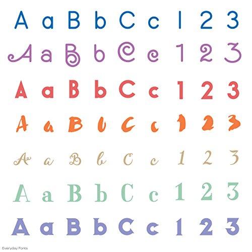 Cricut Everyday Font Cartridge For Craft