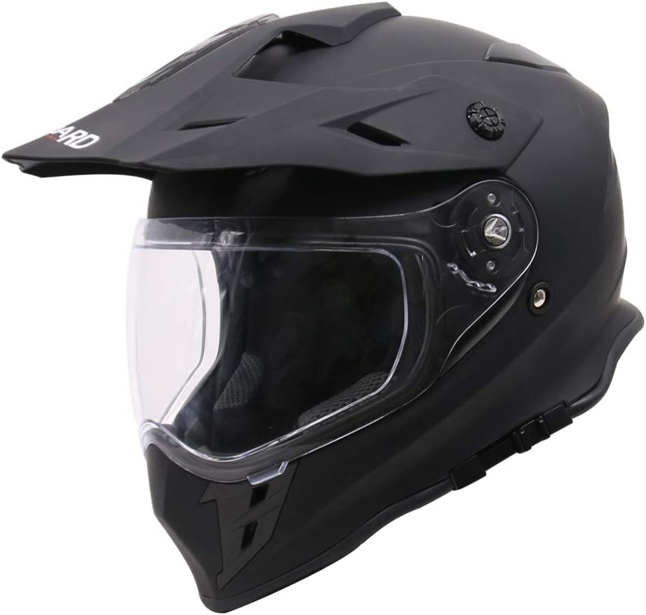 Leopard LEO-X307 Motorradhelm Brille MX Quad ATV Sports Enduro Crash Helm ECE 22.05 Zertifiziert Handschuhe