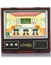 LISRUI Projecteur en Carton Mini TV Creative Couleur en Bois HD Travel Outdoor