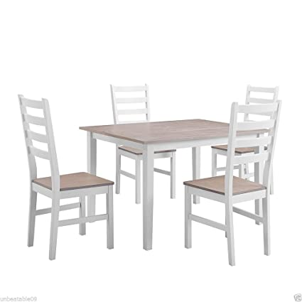 CRAVOG conjuntos de cocina mesa de comedor con sillas y ...