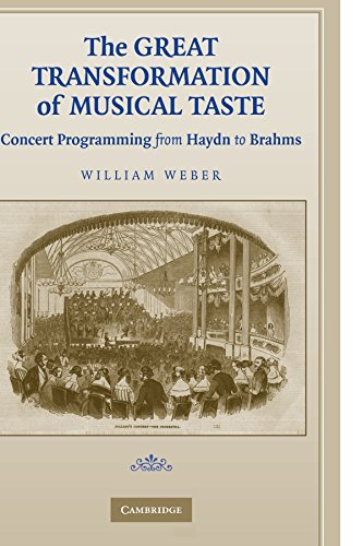 The Great Transformation of Musical Taste: Concert Programming from Haydn to Brahms by Cambridge University Press