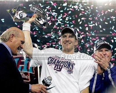 Super Bowl Trophy 8x10 Photograph - 6
