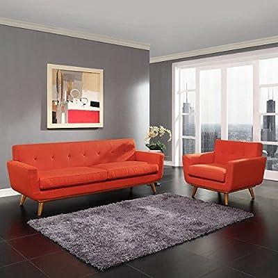 LexMod Engage Armchair and Sofa