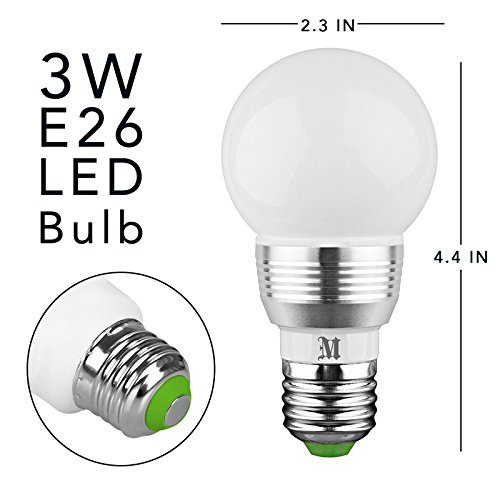 kobra retro led color changing light bulb with remote control 16 different color choices smooth. Black Bedroom Furniture Sets. Home Design Ideas