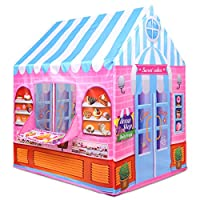 Anyshock Playhouse for Kids Tent, Candy Castle Play House for 1-6 Year Old Children Boys Girls Baby Indoor Outdoor Gifts Toys