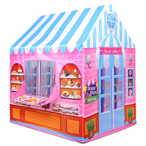 Anyshock Kids Play Tent, Candy Castle Playhouse for 1-6 Year Old Children Boys Girls Baby Indoor Outdoor Gifts Toys…