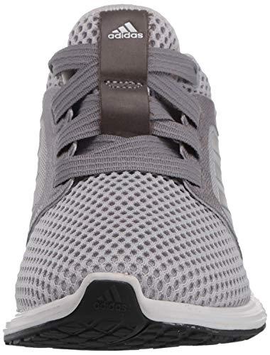adidas Women's Edge Lux 3 Running Shoe, Grey/Silver Metallic/Grey, 5 M US
