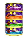 wellness minced cat food - Wellness Minced Grain-Free Wet Cat Food Variety Pack - 4 Flavors (Tuna, Turkey, Chicken, and Turkey & Salmon) - 12 (5.5 Ounce) Cans - 3 of Each Flavor