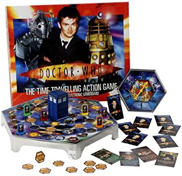 Doctor Who El tiempo de desplazamiento juego de mesa: Amazon.es: Juguetes y juegos