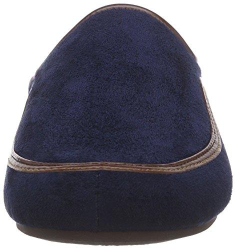 Scholl BRANDY Herren Pantoletten Blau (Navy Blue)